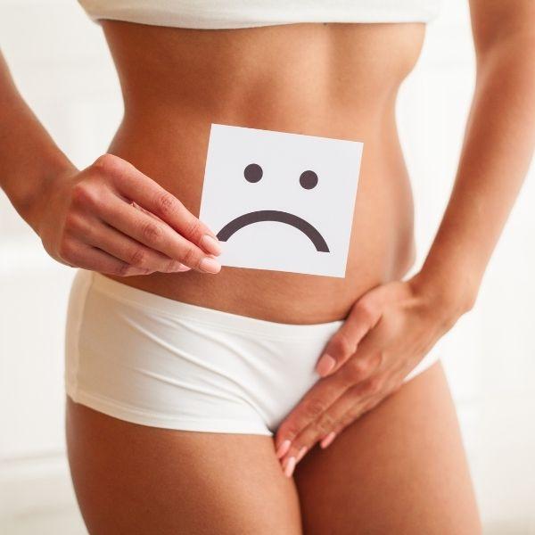 Zaburzenia przewodu pokarmowego spowodowane dysfunkcją mikroflory jelitowej.