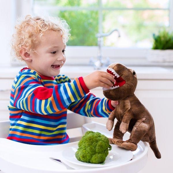 Niech jedzenie warzyw będzie dla dzieci zabawą.