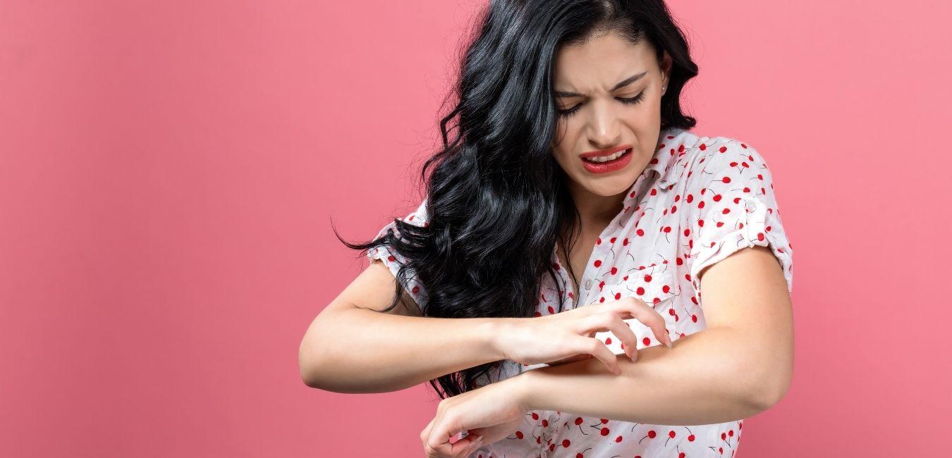Leczenie chorób skóry.