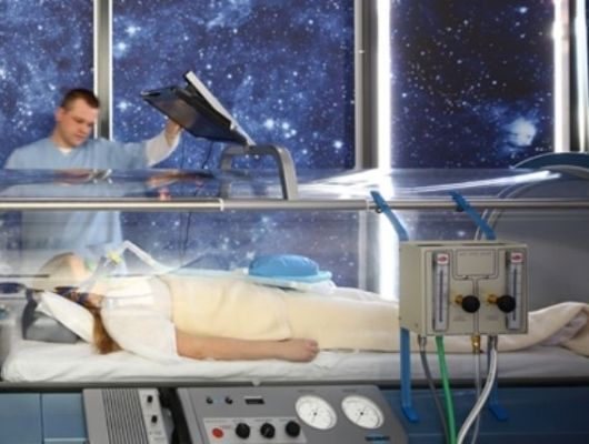 Odpowiednia ilość tlenu leczy przyczynę AZS.