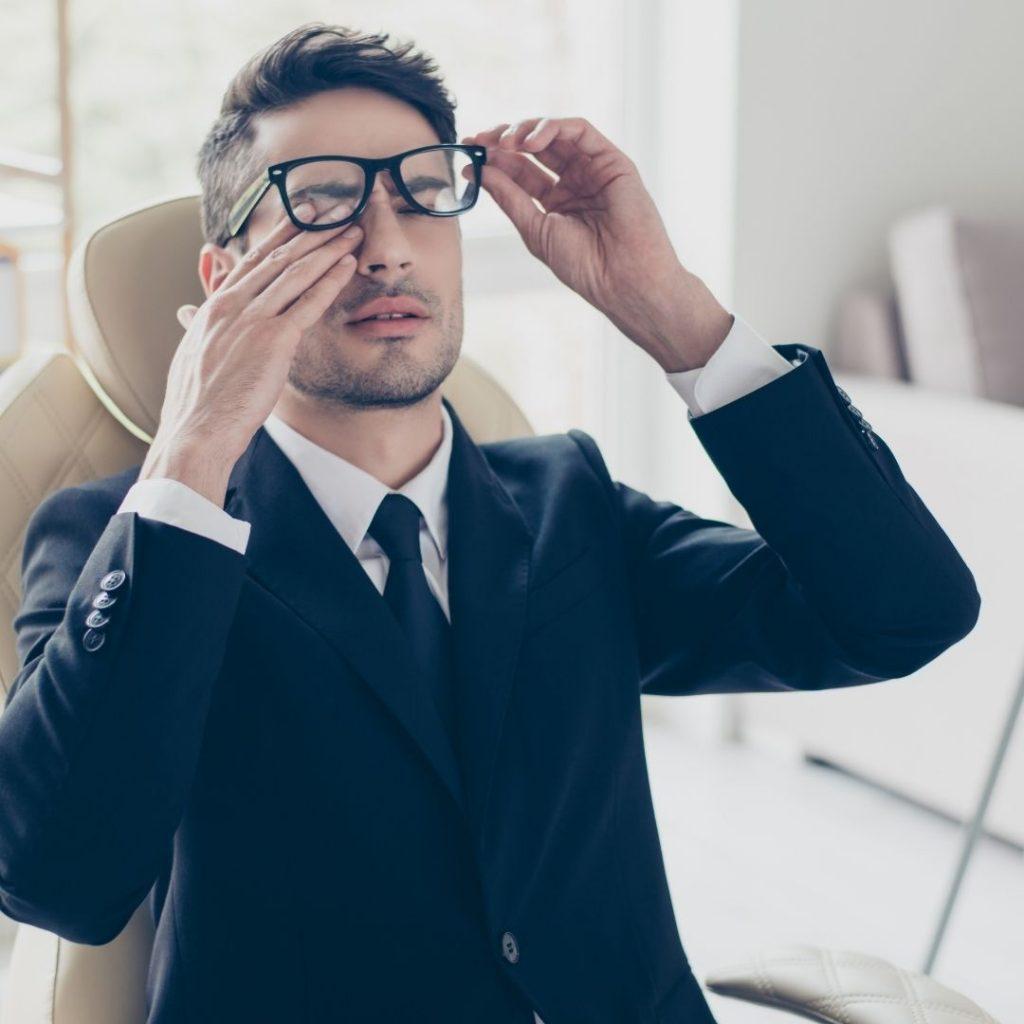 Suche oko, to objaw spowodowany przewlekłym stanem zapalnym