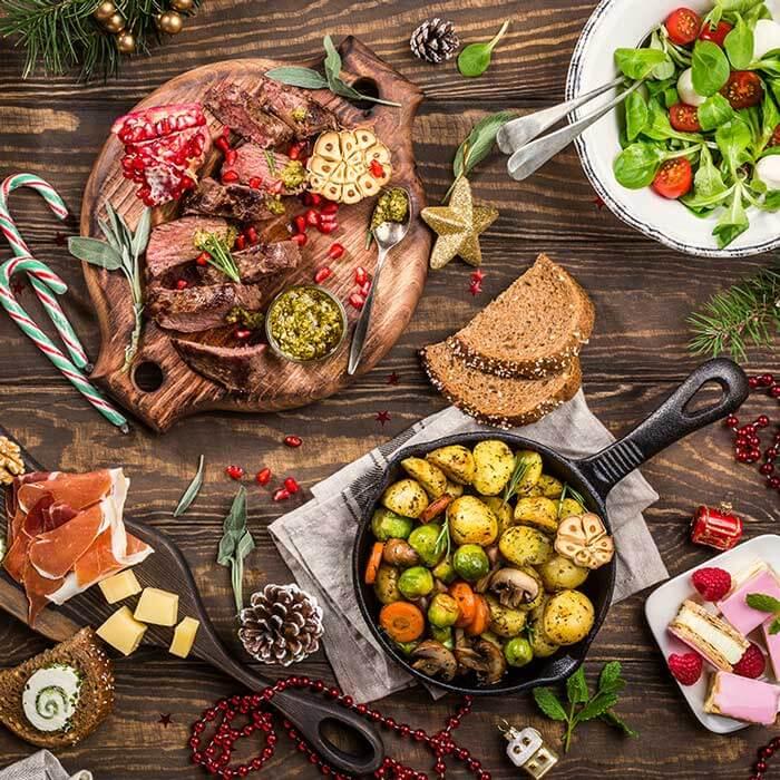 Zaplanuj posiłki świąteczne