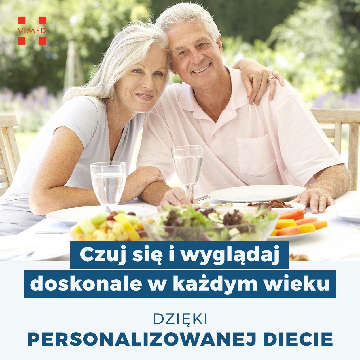 Starsze małżeństwo i personalizowana dieta