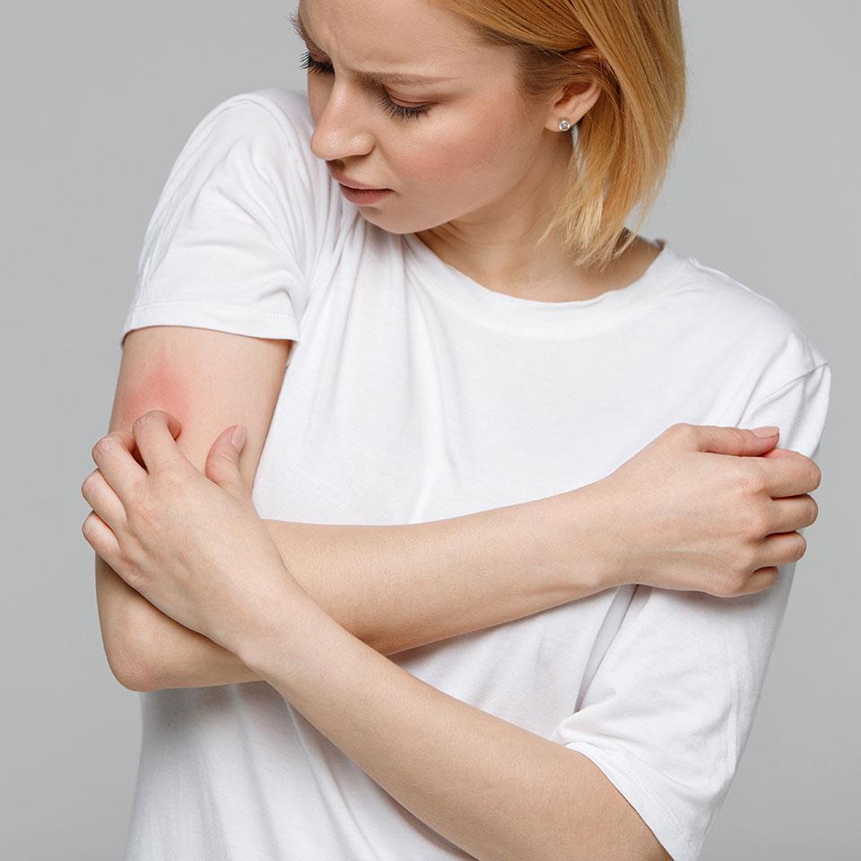 Przewlekłe choroby skóry