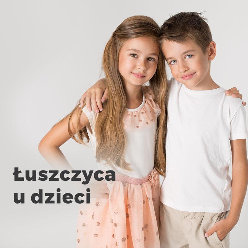 Łuszczycy u dzieci