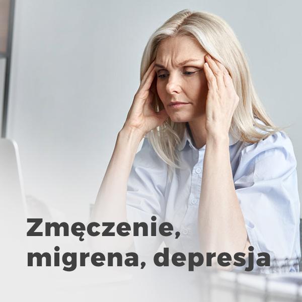 Leczenie przewlekłego zmęczenia, migren i stanów depresyjnych